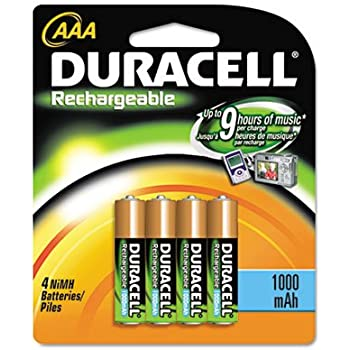 Amazon.com: Duracell DC2400B4N AAA NiMh Rechargeable