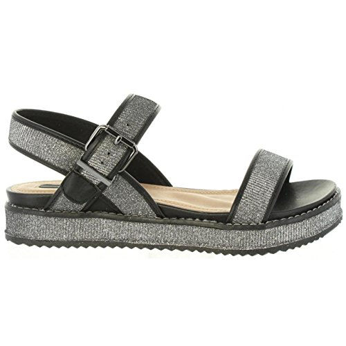 MTNG Sandals and Slippers For Women, Colour Black, Brand, Model Sandals and Slippers For Women 70090 Black Black