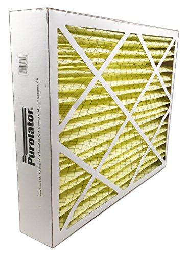 "Sur-Seal P25-16X25X5X1 P25 Purolator High End Filter, Replacement for Honeywell F25, 16"" x 25"" x 5"""