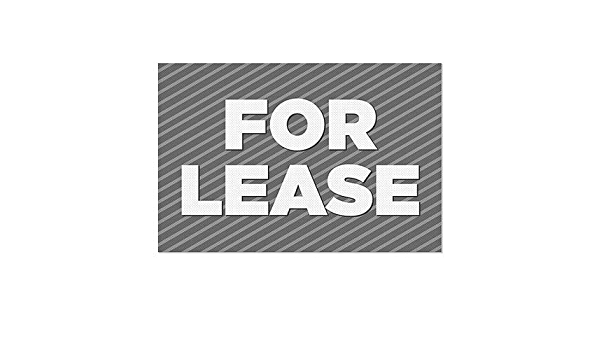5-Pack Nostalgia Stripes Clear Window Cling Now Leasing CGSignLab 30x20