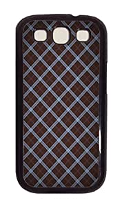 Samsung S3 Case,VUTTOO Cover With Photo: Wood Textures Modern For Samsung Galaxy S3 I9300 - PC Black Hard Case