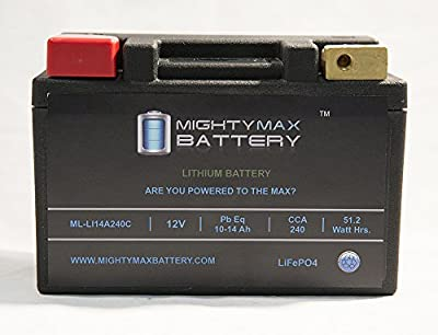 Mighty Max Battery LiFePO4 12V 10-14ah Battery for Polaris 300 Hawkeye, Sportsman '06-10 brand product