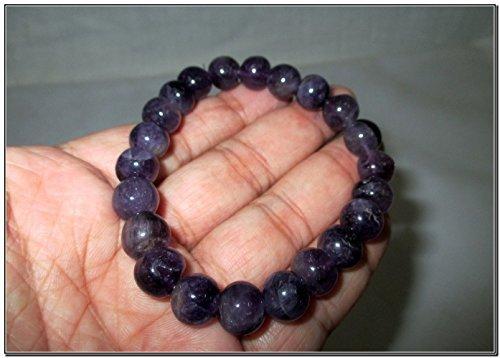 Amethyst Stretch Bracelet Natural Gemstone