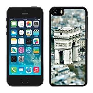 New Beautiful Custom Designed Cover Case For iPhone 5C With Triumphal Arch Paris Phone Case