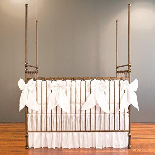 Bratt Decor serafina 3 piece crib bedding set (Bratt Decor White Crib)
