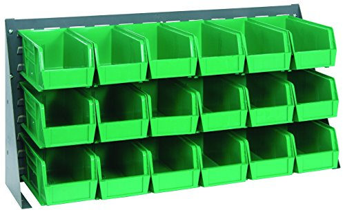 36 Ultra Bins - Quantum Storage Systems QBR-3619-230-18GN Ultra Bin Complete Bench Rack Package with 18 Ultra Bins, 36