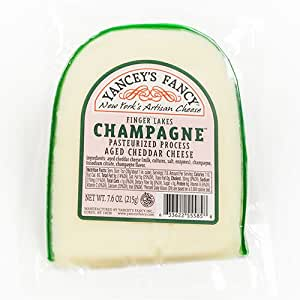 Yancey's Fancy Cheddar with Finger Lakes Champagne (7.6 ounce)