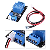 DC12V Photoresistor LDR Relay Control Module, Light Operated Sensor Switch Controler