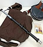 Celtic-Instruments.com Uilleann Pipes Practice Set bagpipes with tutor book