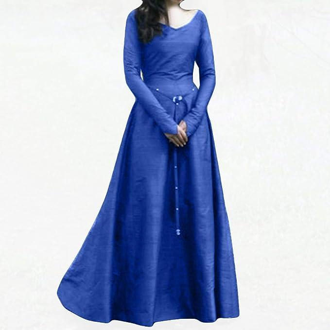 Vestidos De Fiesta Gótico Mujer Retro Medieval Cosplay ...