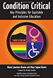 Condition Critical--Key Principles for Equitable and Inclusive Education (Disability, Culture, and Equity Series)