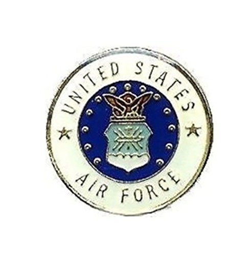 (Air Force Lapel Pin Hat Tie Tac Brass CHN)