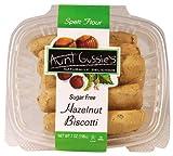 Aunt Gussies Spelt Hazelnut Biscotti, 8 Ounce - 8 per case.