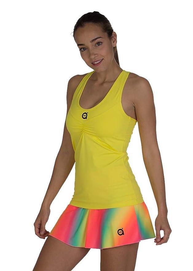 a40grados Sport & Style, Camiseta Cely, Mujer, Tenis y Padel ...