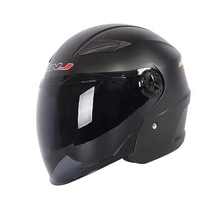 HJL Casco de la Motocicleta Femenino Four Seasons Casco eléctrico de la Motocicleta del Casco Transpirable