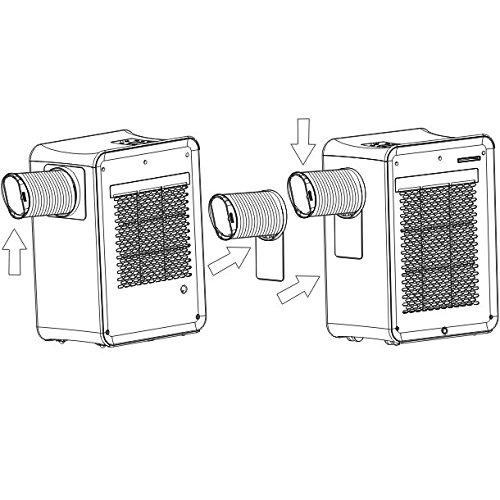 Syntrox Germany 3 en 1 Digital climática dispositivo con 9000 BTU, LCD, mando a distancia, aire acondicionado + calefactor de + deshumidificador: Amazon.es: ...