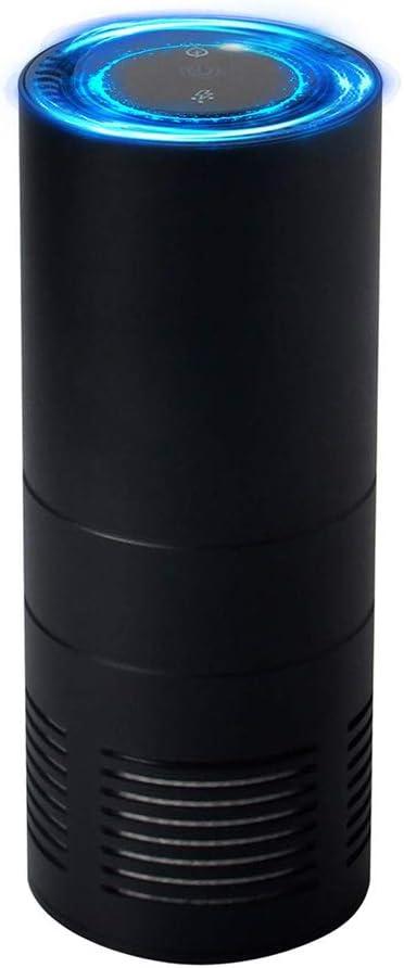 CAPE Purificador de Aire Coche, Limpiador de ambientador iónico Compacto con Filtro áspero + HEPA y filtros de carbón Activo, eliminando el Polvo de Fumar Polen: Amazon.es: Deportes y aire libre