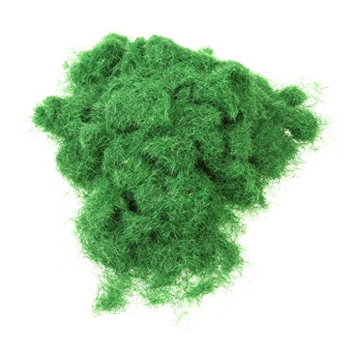 (Pine Needle Green Foliage Model Scenic Material for Mini Tree Grass Lawn DIY)