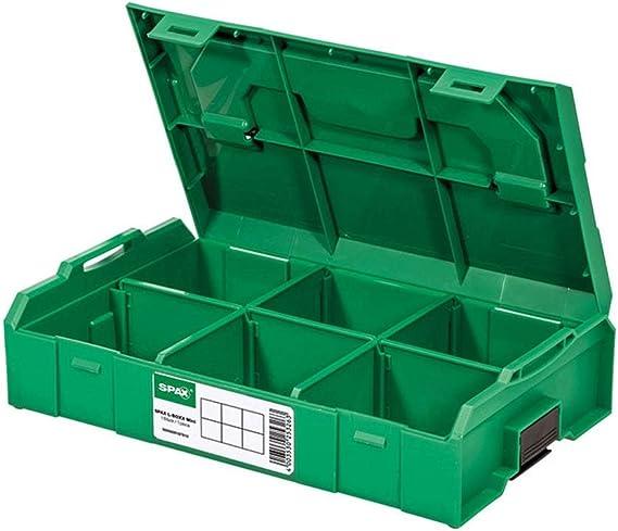 SPAX L-BOXX Mini - Caja de montaje vacía: Amazon.es: Bricolaje y herramientas