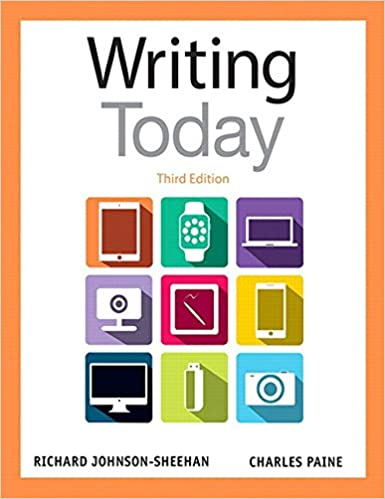 Amazon writing today ebook richard johnson sheehan charles writing today 3rd edition kindle edition fandeluxe Gallery