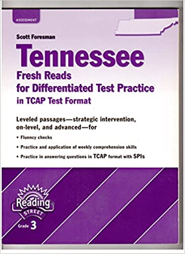 Scott Foresman Tennessee Fresh Reads For Differentiated Test
