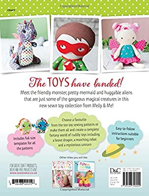 Sew Fantasy Toys: 10 Sewing Patterns for Magical Creatures from ...