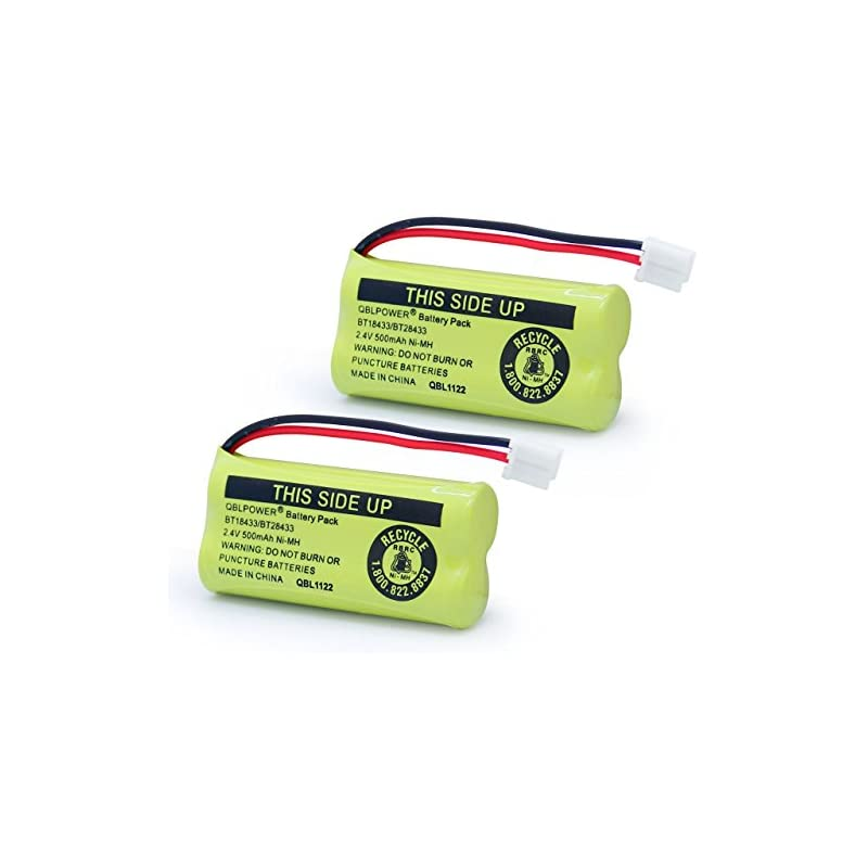 QBLPOWER 2.4V Rechargeable Battery Compa