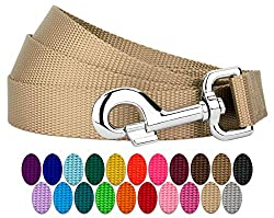 Country Brook Petz - Nylon Dog Leash (1 inch Width)