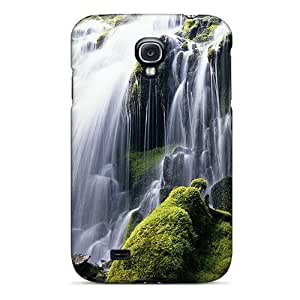 High-end Case Cover Protector For Galaxy S4(lscape Waterfall)