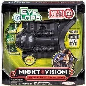 698aa17dff00c0 Eyeclops Night Vision Infared Stealth Binoculars With A High Contrast  Dual-Eye Lcd Display Jouets