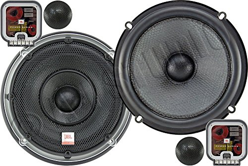 White JBL MS6520 180W Pair 1 Year Direct Man 6.5 Coaxial Marine Speakers -