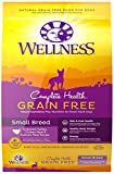 Wellness Complete Health Natural Grain Free Dry Small Breed Dog Food, Turkey, Chicken & Salmon, 11-Pound Bag For Sale