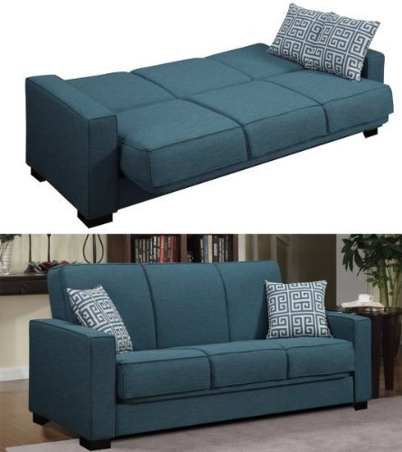 Amazon.com: Puebla convert-a-couch Convertible sofá Color ...
