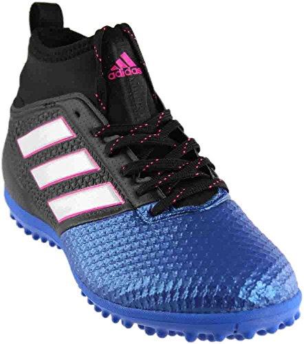 Total 90 Indoor Shoes (adidas Men's Ace 17.3 Primemesh TF Soccer Shoe, Black/White/Satellite, (9.5 M US))