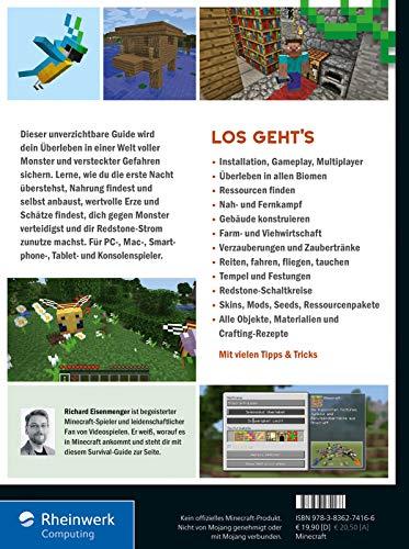 Dein Survival-Buch: Das Training für Minecrafter. Craften, bauen, kämpfen und überleben in Minecraft. Inkl. Crafting…