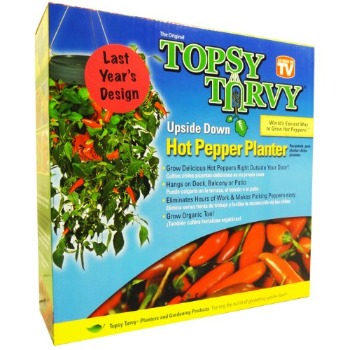 (Topsy Turvy Hot Pepper Planter)