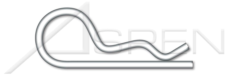 AISI 304 Stainless Steel 18-8 200 pcs Bridge Pins 0.054 X 3//4