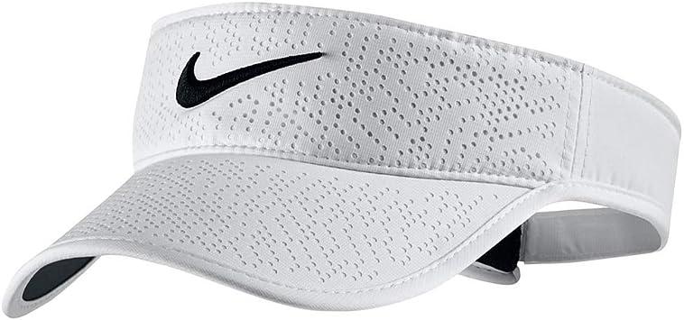 Nike Tech Visor 2017 Gorra de Golf, Mujer, Blanco, Talla Única ...