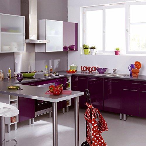 Vita Meuble de cuisine d\'angle haut 60cm Violet - Alinea 60.0x70 ...
