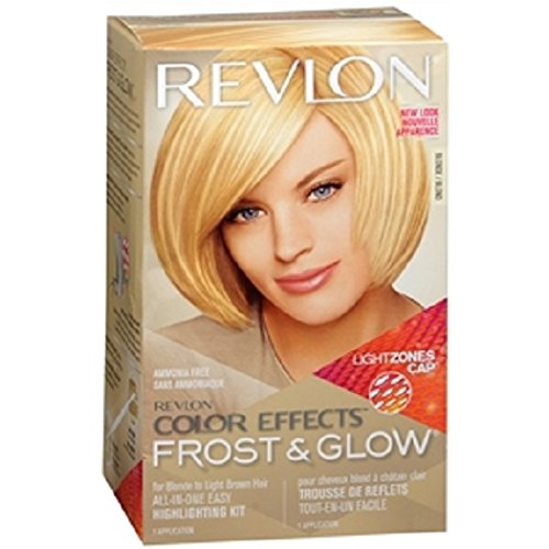 Revlon Color Effects Frost & Glow All-In-One Highlighting Kit, Blonde 1 ea (Pack of ()