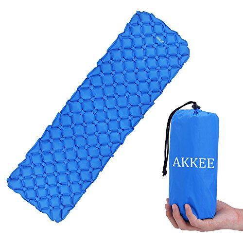 Colchón Inflable camping,Esterillas auto-inflables,Colchón de aire ultraligero colchones inflables para camping senderismo aire inflado camping colchón ...