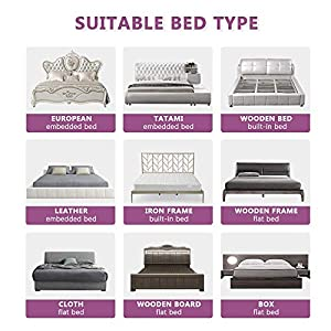 ABDQPC Bed Rails for Toddlers Extra Long Toddler Bed Rail Guard for Kids Twin, Double, Full Size Queen & King Mattress Bed Rails for Toddlers (1 Side 70″(L)×30″(H))