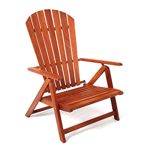 Adirondack Chair Sport Model by Sabbatical - Portable, Folding and Reclining Great for The Patio,...