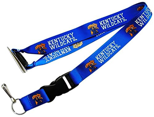 NCAA Kentucky Wildcats Team Color Lanyard