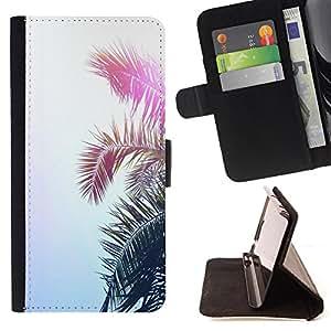 King Air - Prima caja de la PU billetera de cuero con ranuras para tarjetas, efectivo Compartimiento desmontable y correa para la mu?eca FOR LG G3 LG-F400 D802 D855 D857 D858 - Tree Summer