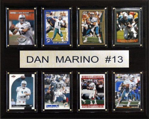 NFL Dan Marino Miami Dolphins 8 Card Plaque -