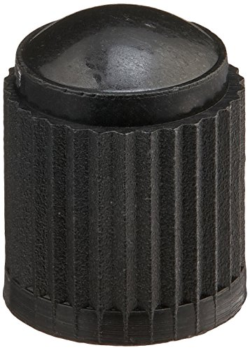 Valv Seal - Xtra-Seal Black Plastic Valve Cap (Box of 100)