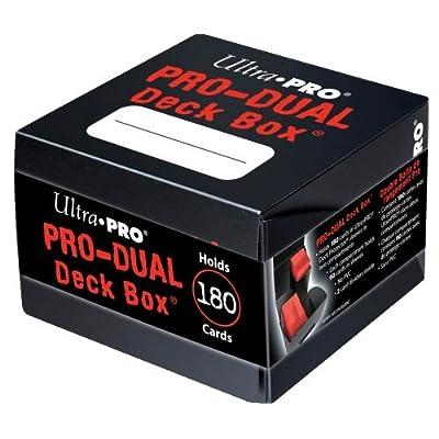 Ultra Pro Black PRO Dual Standard Deck Box: Clothing