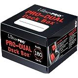 Ultra Pro Black PRO Dual Standard Deck Box