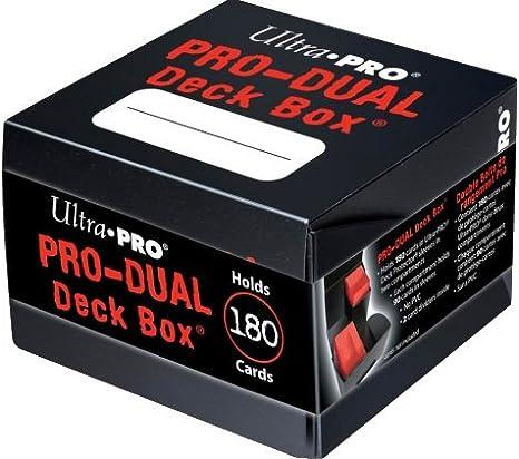 Ultra Pro Black Pro - Caja para Cubiertas estándar Doble: Amazon.es: Ropa y accesorios